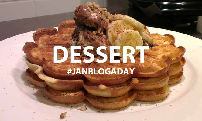dessert #janblogaday