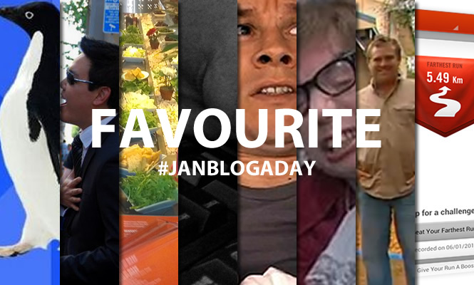 favourite #janblogaday