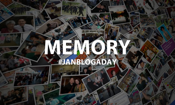 Memory #janblogaday