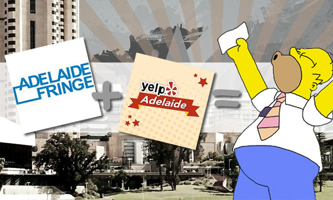 Awesome Adelaide: Yelp + Adelaide Fringe = Backstage antics