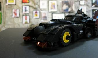 Lego Batmobile at Espionage Gallery