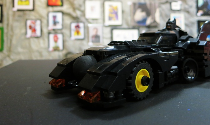 Lego Batmobile at Espionage Gallery